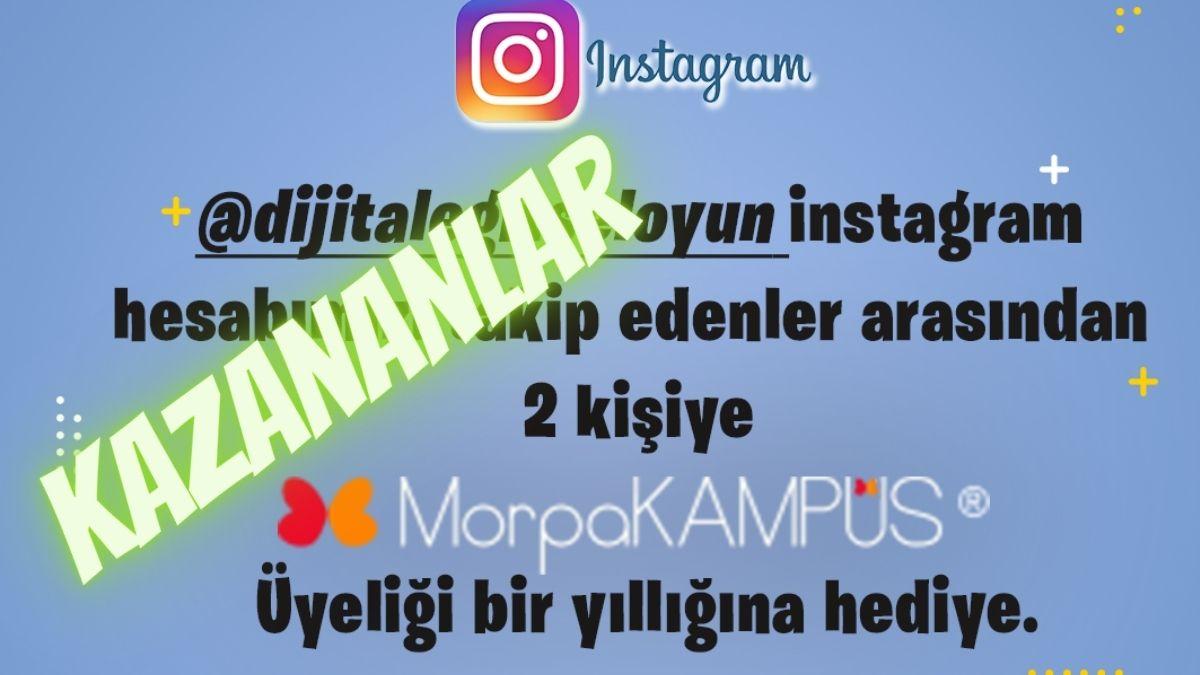 morpa kampüs üyeliği