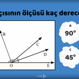 7.Sınıf- Matematik- Açıortay konusu ile ilgili hazırladığımız eğitici oyunumuzla hem eğlen hem öğren